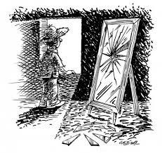 espejo y ventana
