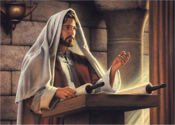 jesus en la sinagoga de nazaret